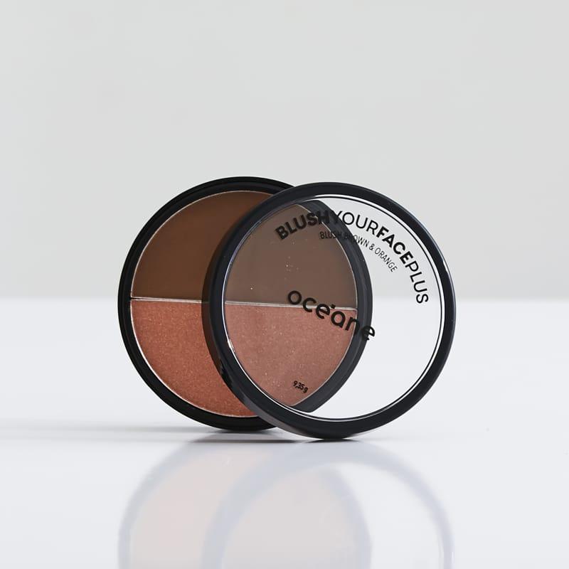 Blush Your Face Brown Orange - Blush em Pó