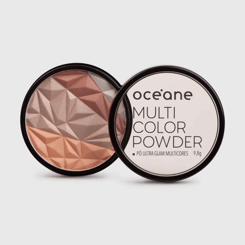 Multicolor Powder Ultra Glam - Iluminador 3 em 1