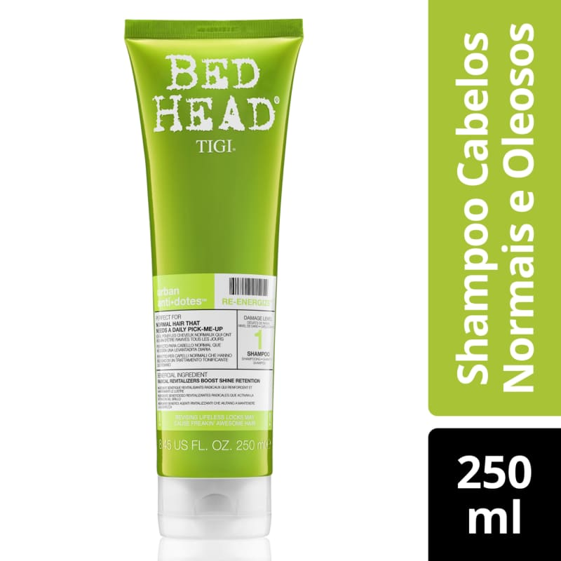 Shampoo Bed Head Urban Anti+Dotes #1 Re-Energize 250ml