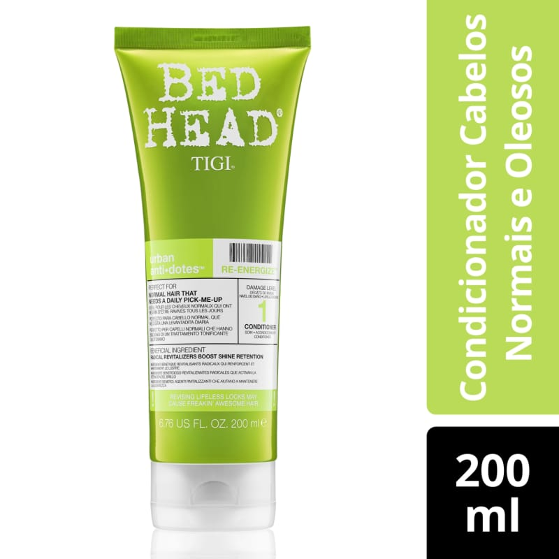 Condicionador Bed Head Urban Anti+Dotes #1 Re-Energize 200ml