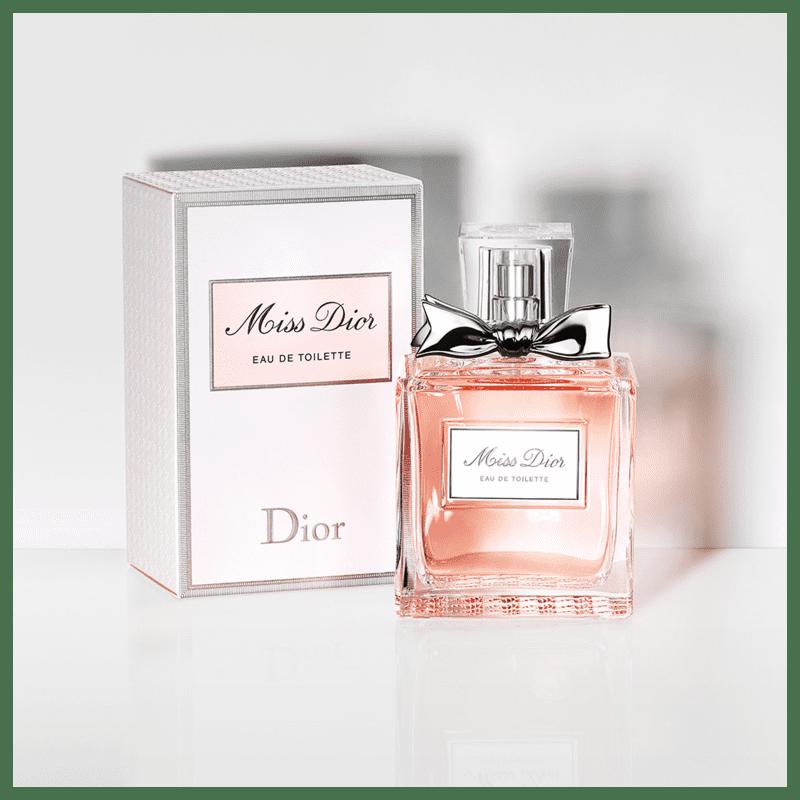bd5d9523904 Miss Dior Eau de Toilette - Perfume Feminino 100ml. ‹ ›