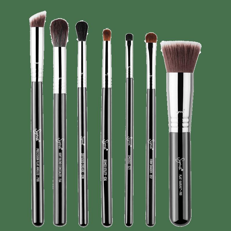 Kit de Pincéis Sigma Beauty Best of Sigma (7 produtos)