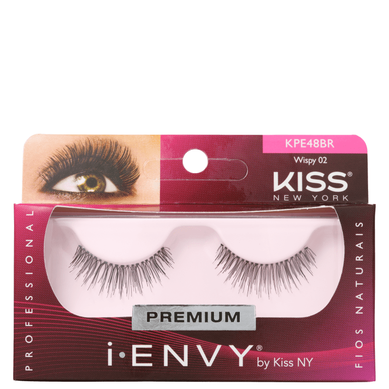 Kiss New York i-Envy Wispy 02 - Cílios Postiços