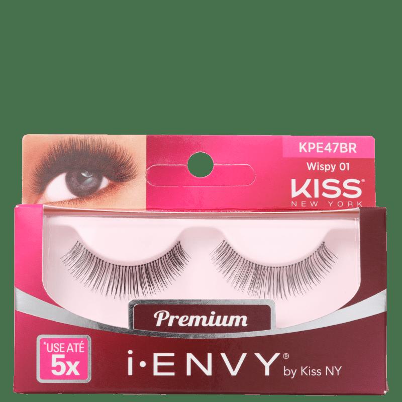 Kiss New York i-Envy Wispy 01 - Cílios Postiços