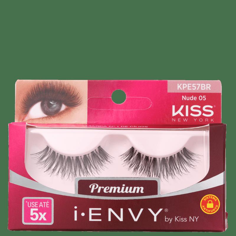 Kiss New York i-Envy Nude 05 - Cílios Postiços
