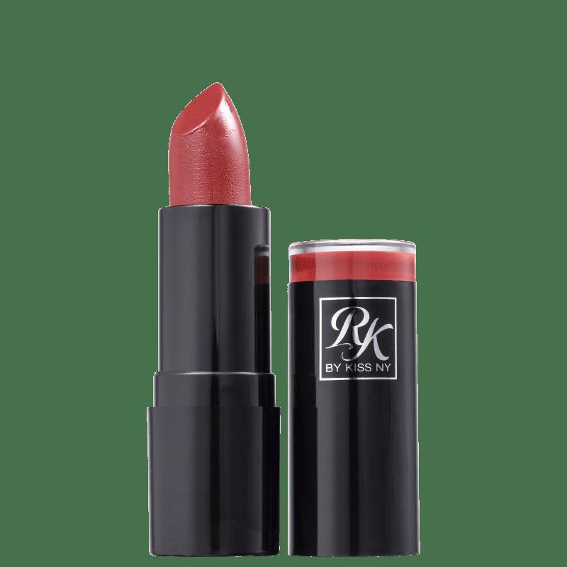 Kiss New York Ruby Kisses Luxúria - Batom Cremoso 3,5g
