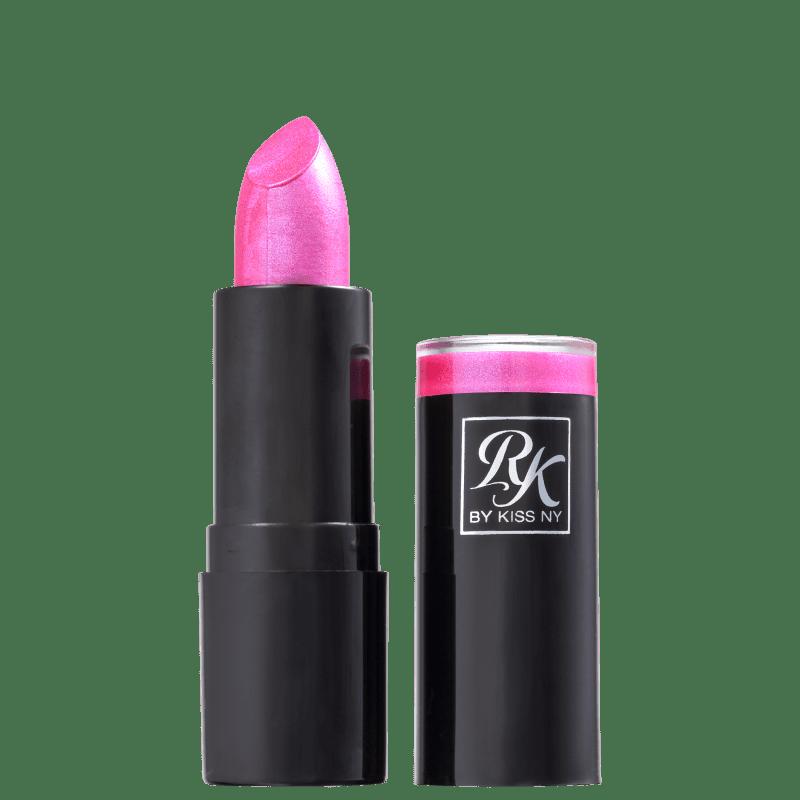 Kiss New York Ruby Kisses Rosa Shock - Batom Cintilante 3,5g