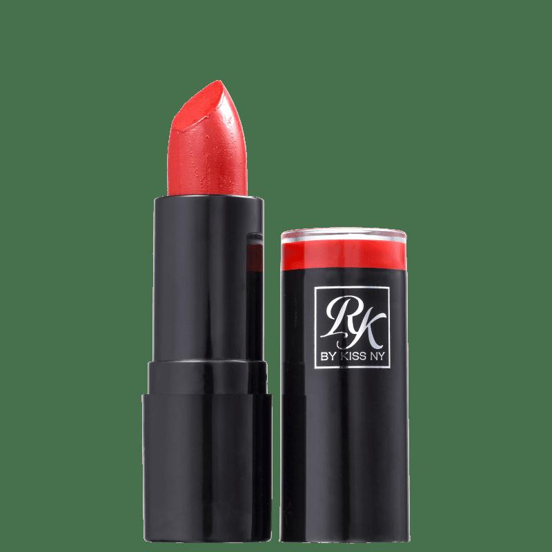 Kiss New York Ruby Kisses Vermelho Sexy - Batom Cremoso 3,5g