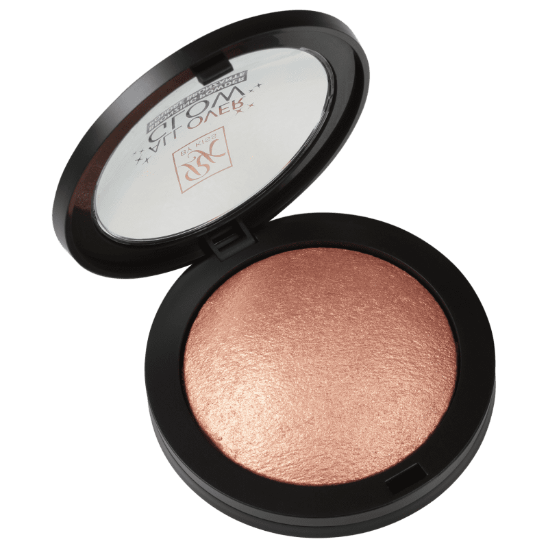 Kiss New York Ruby Kisses All Over Glow Bronzed - Bronzer Cintilante 15g