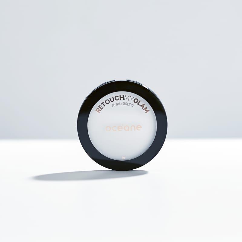 Retouch My Glam - Pó Compacto Translúcido 8g