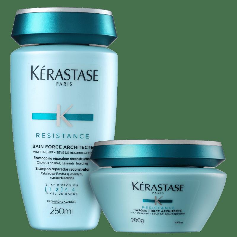Kit Kérastase Résistance Force Deux (2 Produtos)