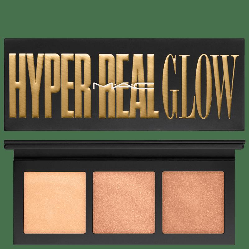 M·A·C Hyper Real Palette Glow Flash + Awe - Paleta de Iluminadores 4,5g