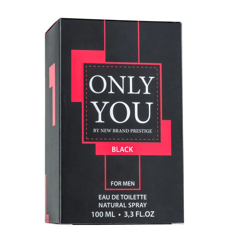 6fb7b4fa8 Only You Black For Men New Brand Eau de Toilette - Perfume Masculino 100ml