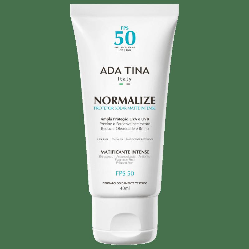 Ada Tina Normalize Matte Intense FPS50 - Protetor Solar Facial 40ml