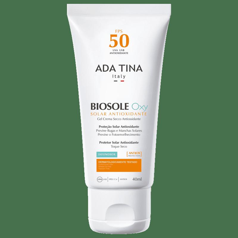 Ada Tina Biosole Oxy FPS50 - Protetor Solar 40ml
