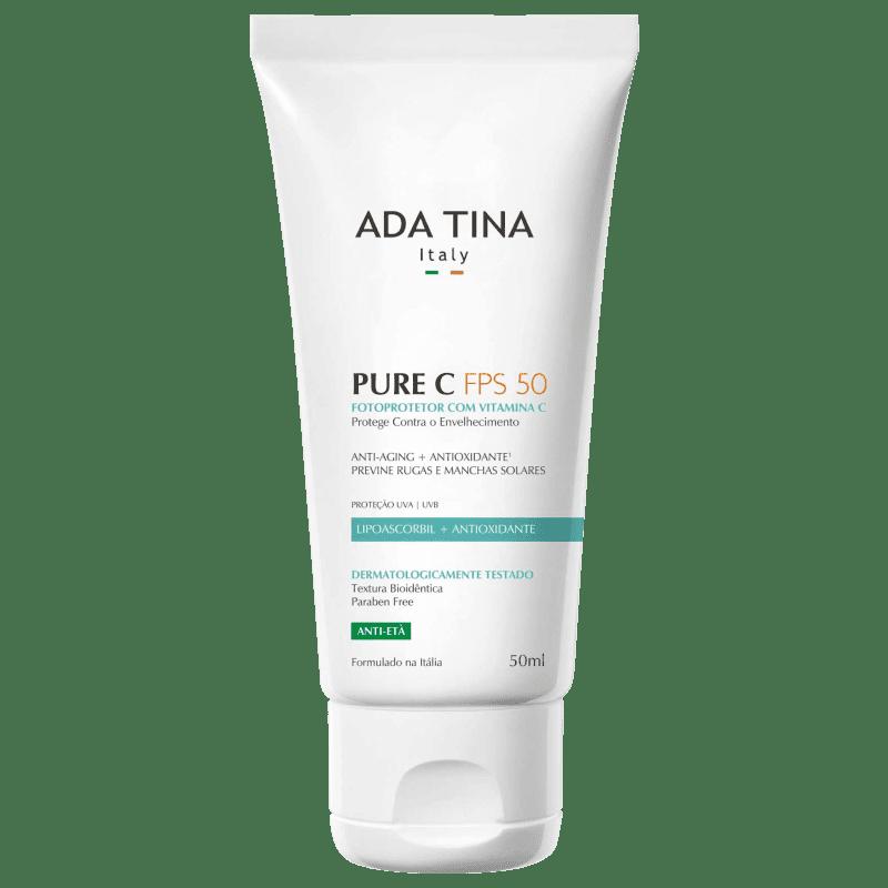 Ada Tina Pure C FPS50 - Protetor Solar 50ml