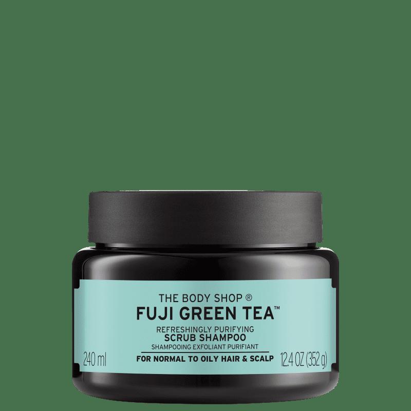 The Body Shop Fuji Green Tea Refreshingly Purifying Cleansing - Tratamento Esfoliante 240ml