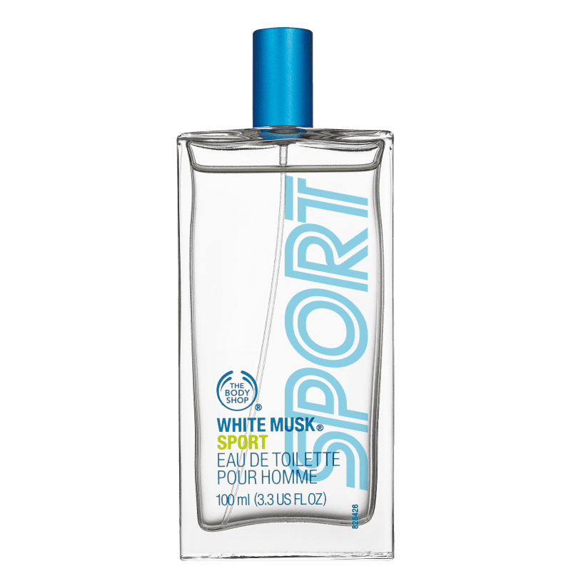 White Musk Sport The Body Shop Eau de Toilette - Perfume Masculino 100ml