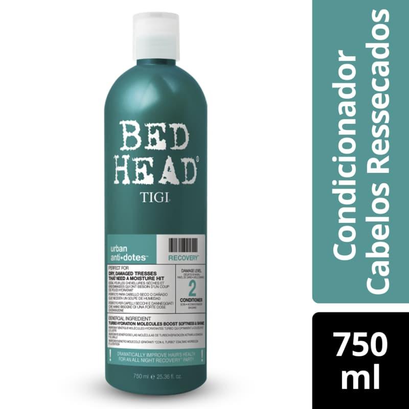 Condicionador Bed Head Recovery Urban Anti+Dotes 2 750ml