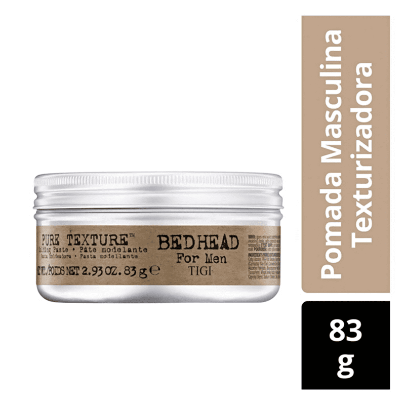 TIGI Bed Head For Men Pure Texture - Pasta Modeladora 83g