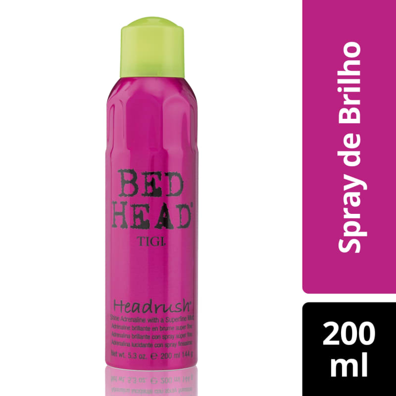 Bed Head Headrush - Spray de Brilho 200ml