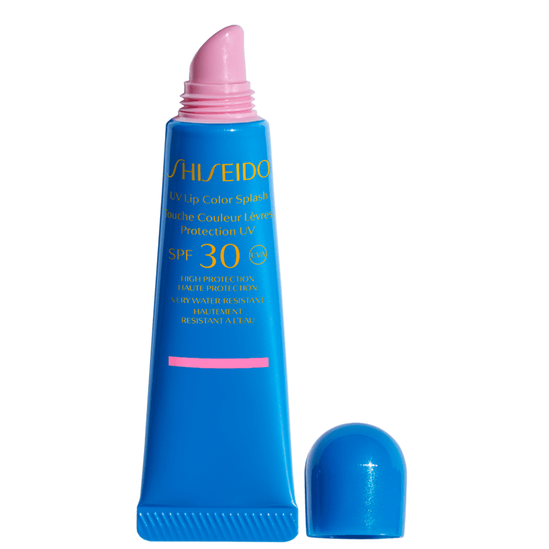 Shiseido UV Lip Color Splash FPS 30 Miami Pink - Gloss Hidratante 10ml