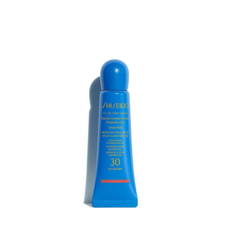 Shiseido UV Lip Color Splash SPF30 Uluru Red - Gloss Hidratante 10ml