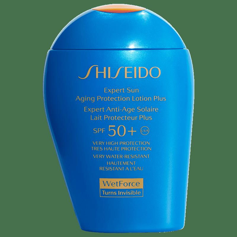 Shiseido Expert Sun Aging Protection Lotion Plus FPS 50+ - Protetor Solar em Loção 100ml
