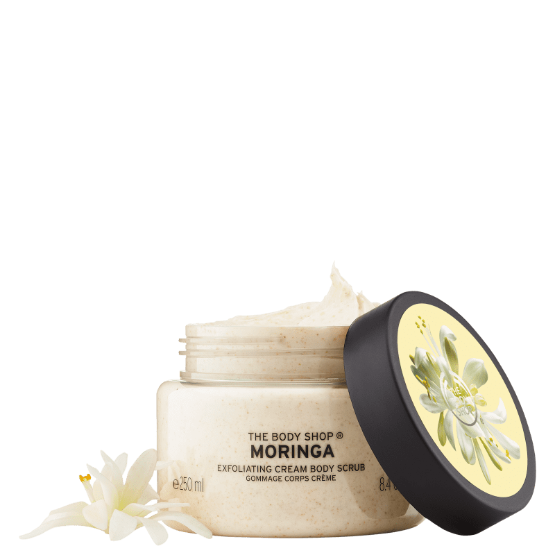 The Body Shop Moringa Body Scrub - Creme Esfoliante 250ml