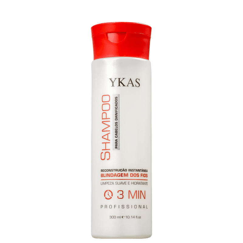 YKAS 3 Minutos - Shampoo 300ml