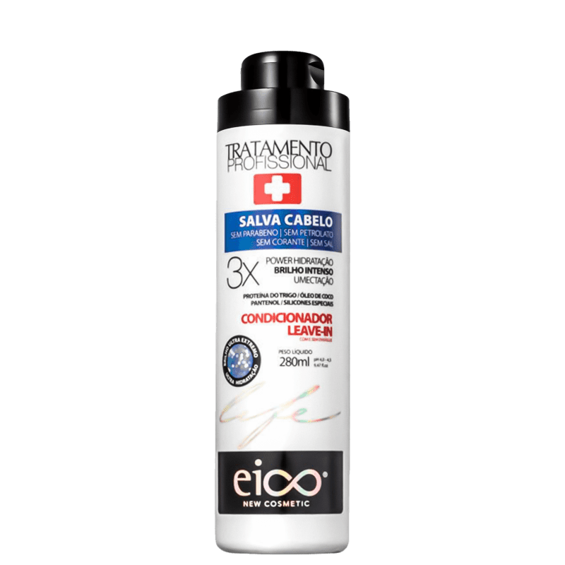 Eico Life Salva Cabelo - Condicionador Multifuncional 280ml