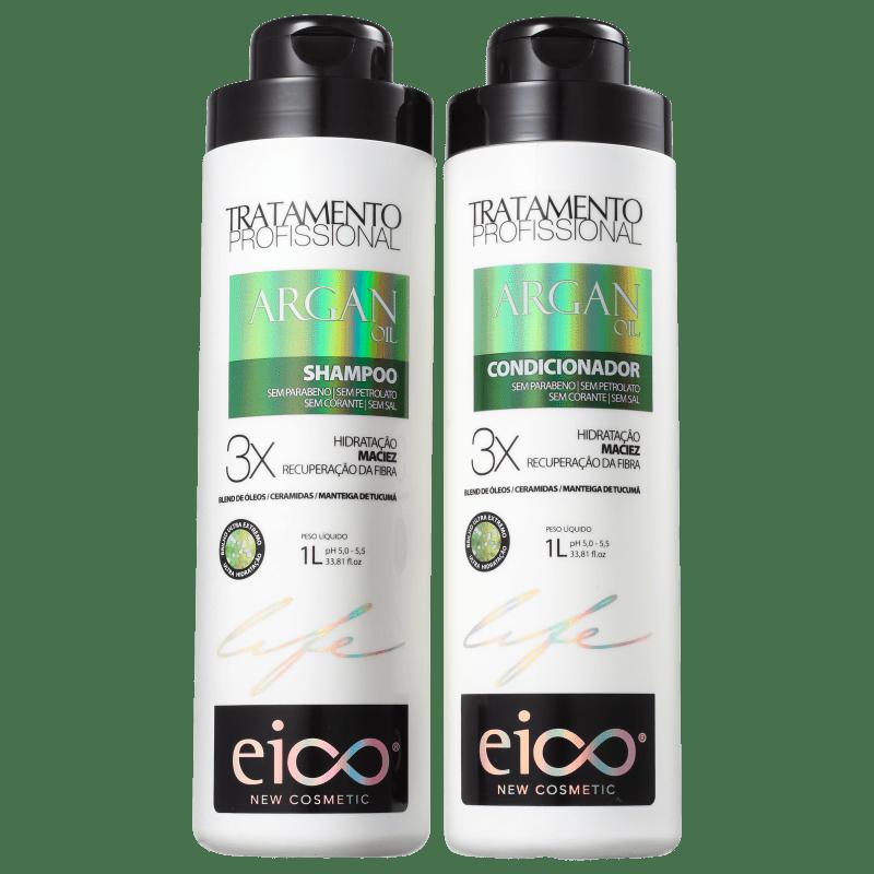 Kit Eico Life Argan Oil Duo (2 Produtos)