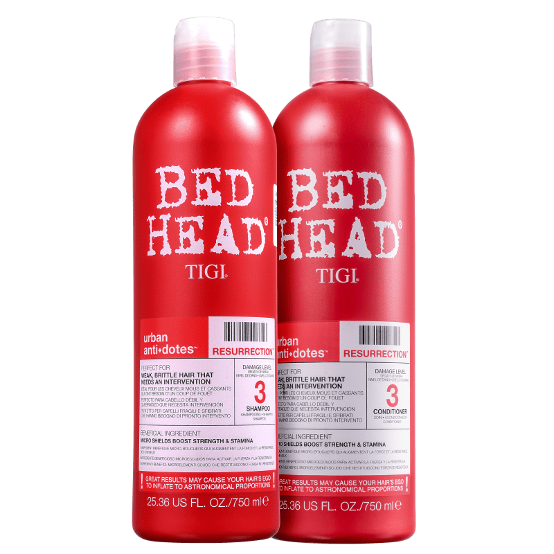 Kit Bed Head Urban Anti+Dotes #3 Resurrection (2 Produtos)