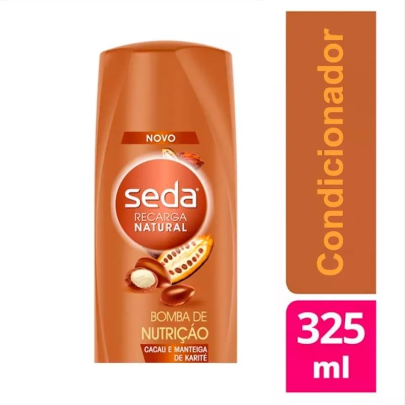 Condicionador Seda Bomba de Nutrição 325ml