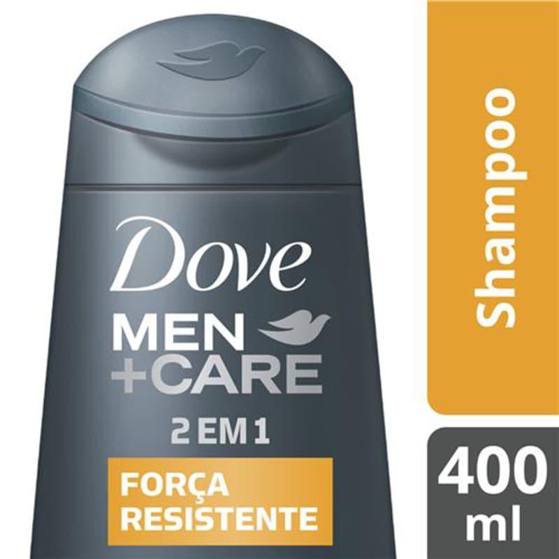 Dove Men+Care 2em1 Força Resistente - Shampoo 400ml