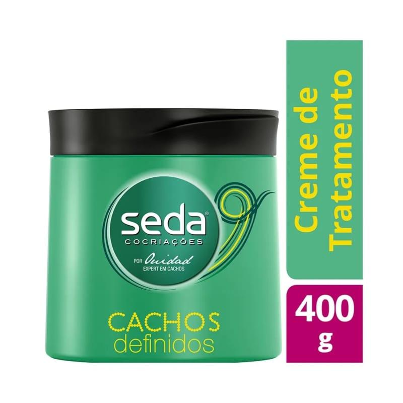 Creme de Tratamento Seda Cachos Definidos 400g