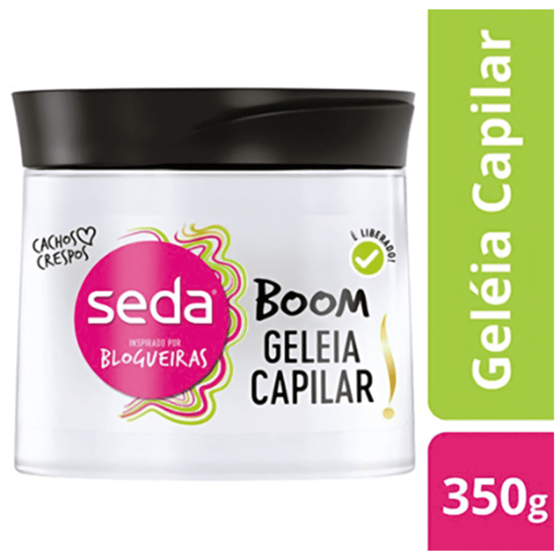 Seda Boom Geléia Capilar - Finalizador 350g
