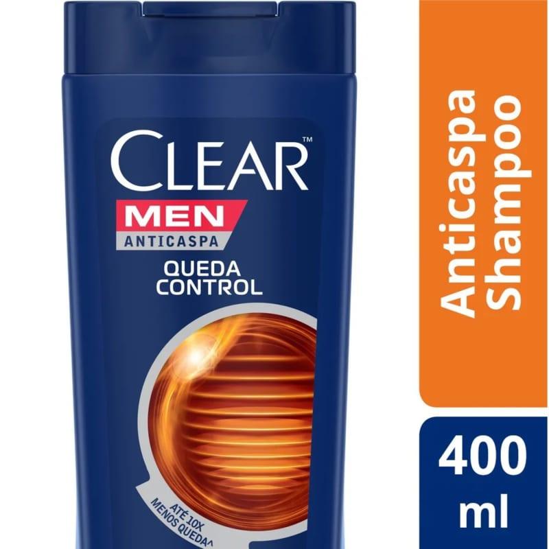Shampoo Anticaspa Clear Queda Control 400ml
