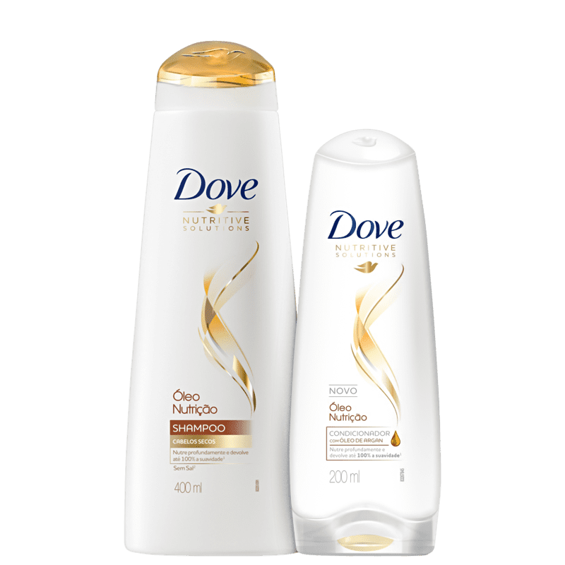 Kit Dove Óleo Nutrição Plus Duo (2 Produtos)