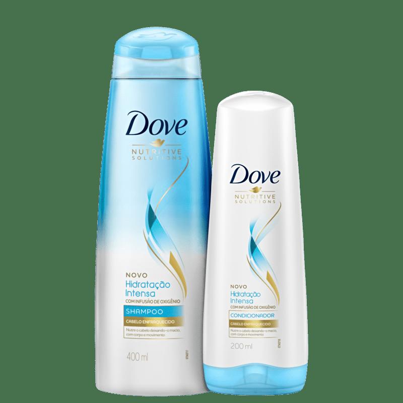 Kit Dove Hidratação Intensa com Infusão de Oxigênio (2 Produtos)