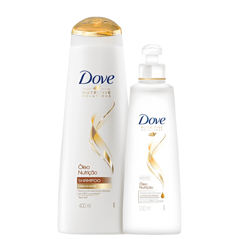 Kit Dove Óleo Nutrição Basic (2 Produtos)