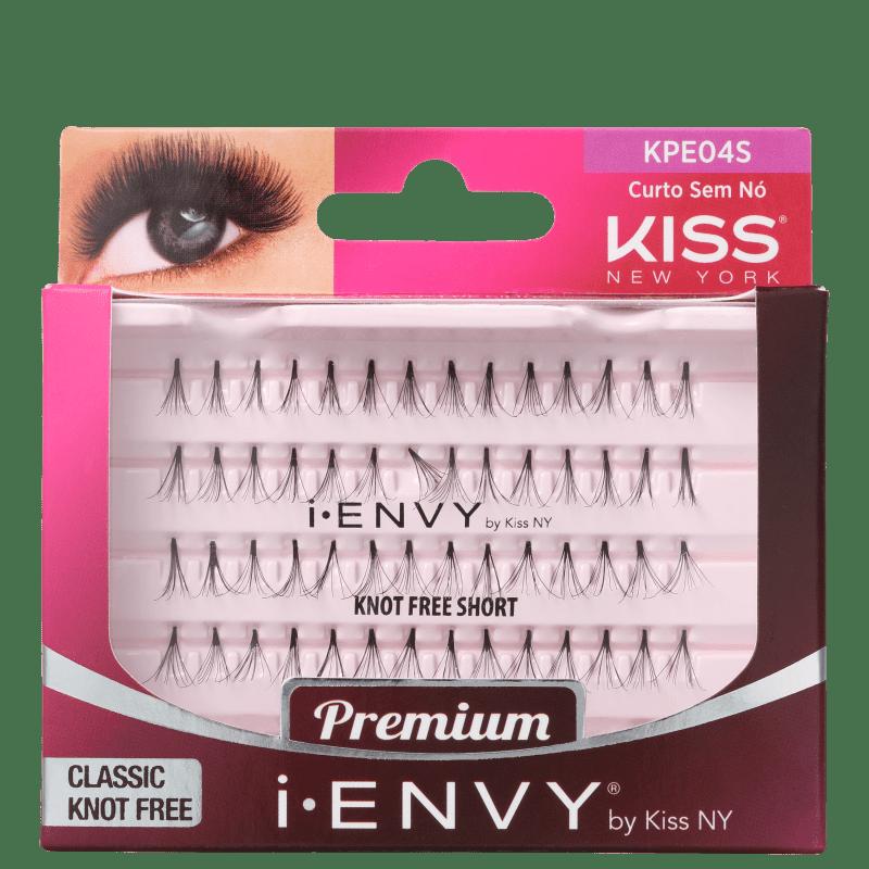 Kiss New York i-Envy Individual Sem Nó Curto - Cílios Postiços