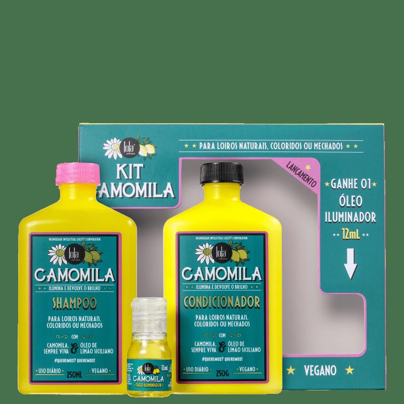 Kit Lola Cosmetics Camomila (3 Produtos)