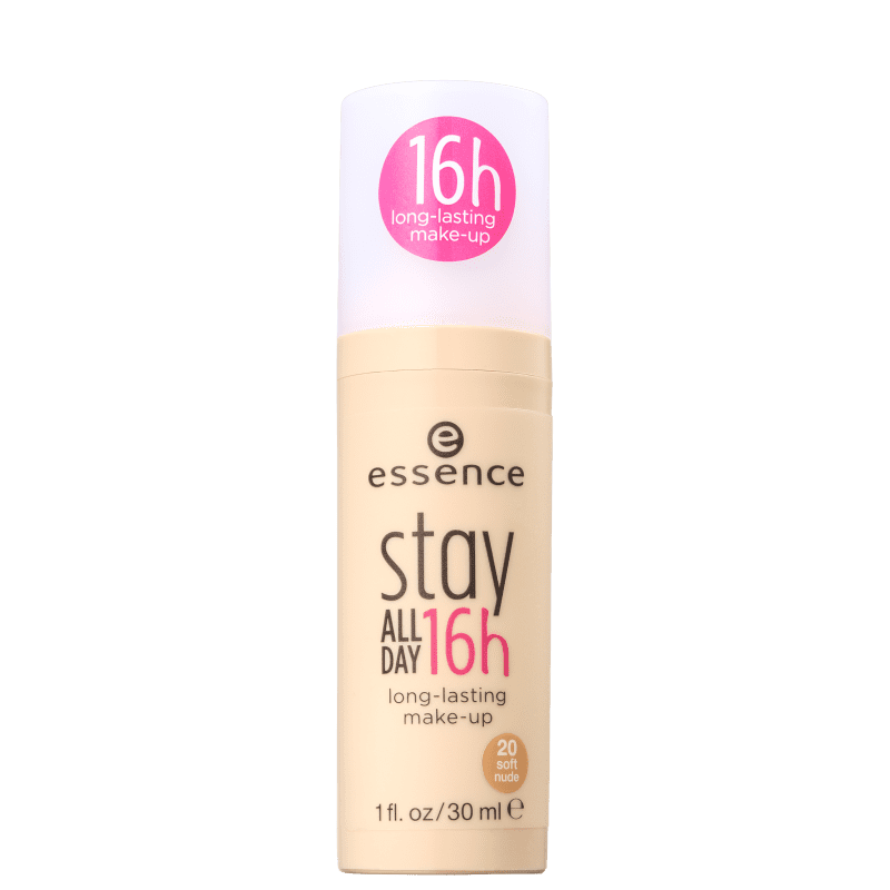 Essence Stay All Day 20 Soft Nude - Base Líquida 30ml