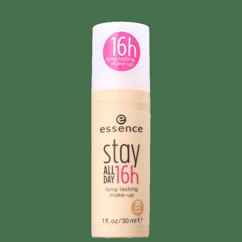 Essence Stay All Day 20 Soft Nude - Base Líquida 30ml
