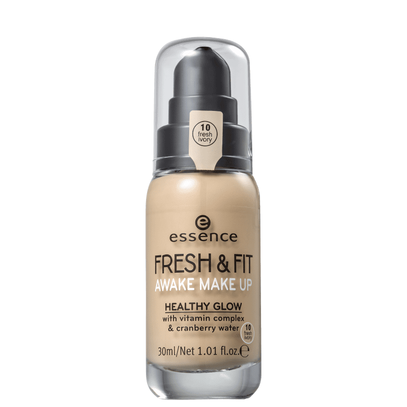 Essence Fresh & Fit 10 Fresh Ivory - Base Líquida 30ml