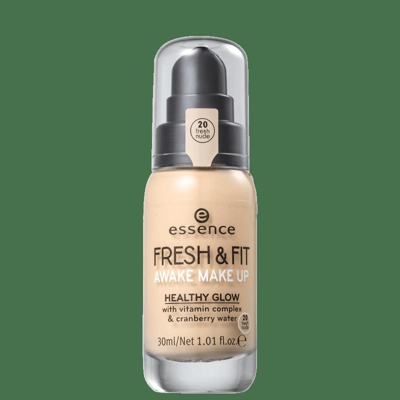 Essence Fresh & Fit 20 Fresh Nude - Base Líquida 30ml