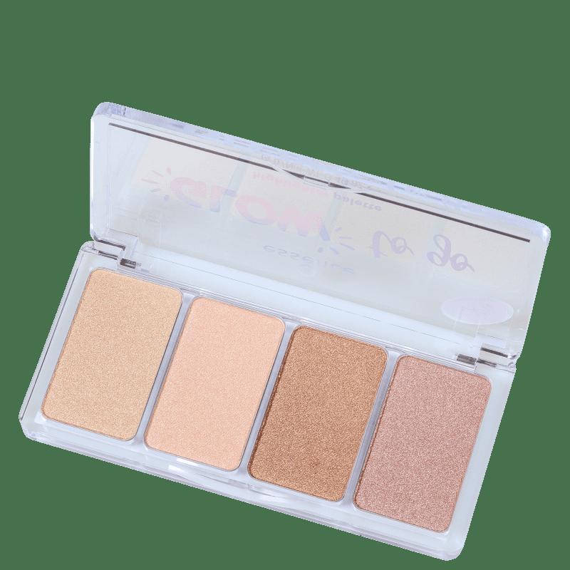 Essence Glow To Go - Paleta de Maquiagem 14g