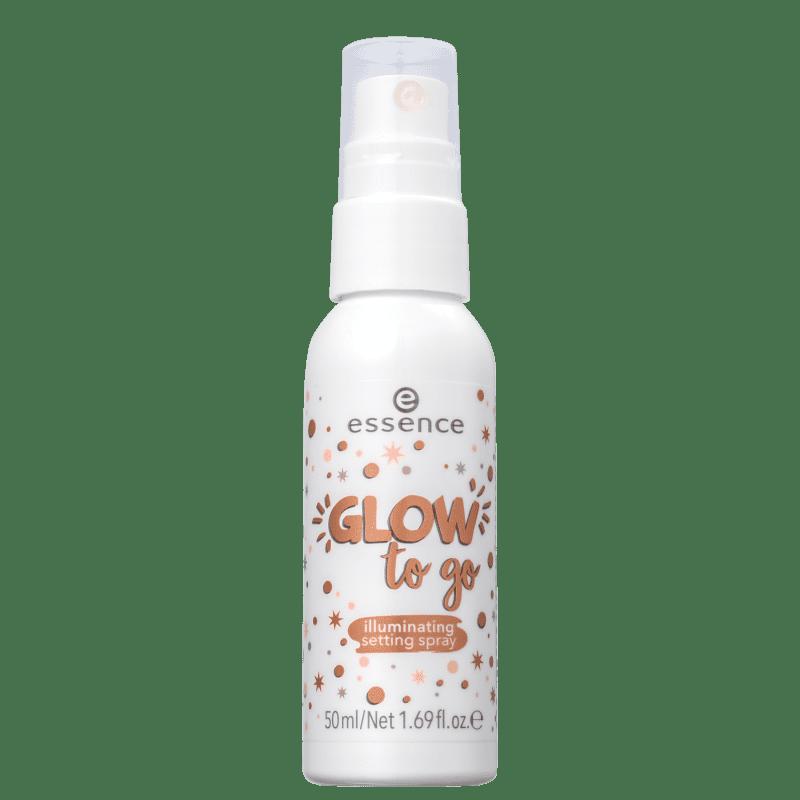 Essence Glow To Go - Fixador de Maquiagem em Spray 50ml
