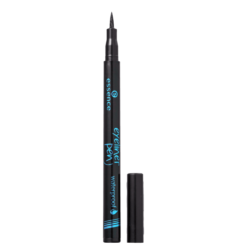 Essence Waterproof 01 Deep Black - Caneta Delineadora